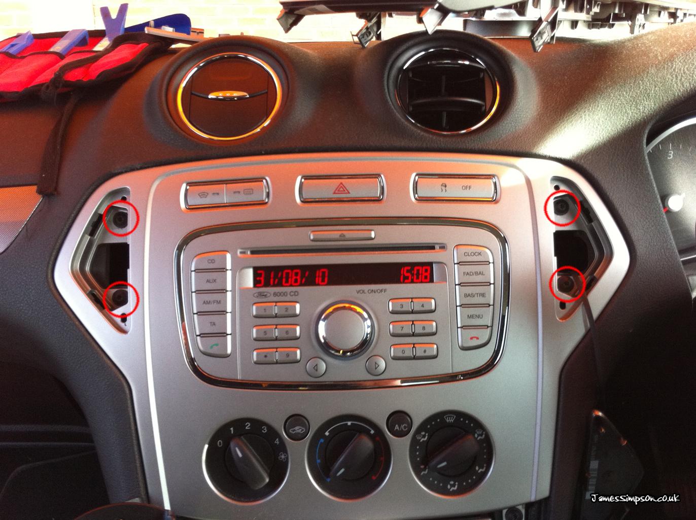 автомагнитола форд мондео
