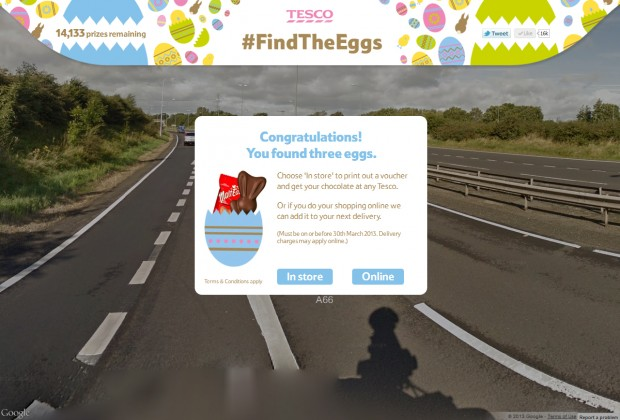 Free Easter Eggs From Tesco