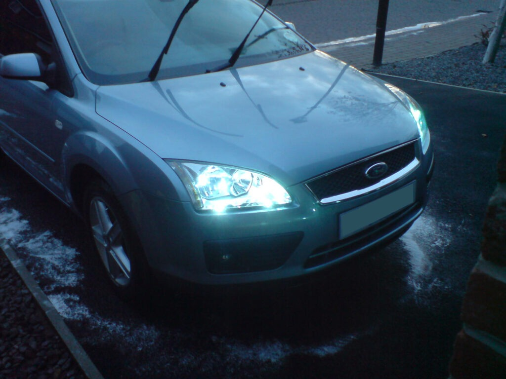 Fitting HID Headlights - Ford Focus MK2
